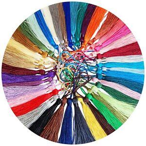 43 colors Fringe Tassel Sewing Decor Hanging Craft DIY Trim Bookmark 30pcs/lot