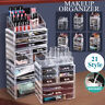 Makeup Cosmetics Jewelry Table Organizer Acrylic Display Box Storage with Drawer