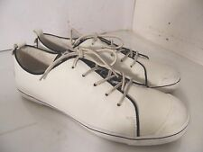 Josef Seibel Lilo 17 White Leather Sneakers Shoes Womens Size 42