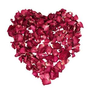 1 Bag of Dried Rose Petals Flowers Natural Wedding Table Confetti Pot G1V5