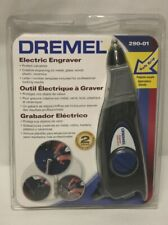 Dremel 290-01 Variable Speed Electric Metal Wood Engraver + Letter Templates