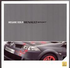 Renault Megane Renaultsport R26.R Limited Edition 2008-09 UK Markt Prospekt