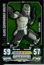 Star Wars Force Attax Series 3 Card #218 Clone Commander Wolffe