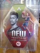 2017-18 PANINI ASCENSION NEW FRONTIERS JOHN COLLINS DIE CUT HAWKS !