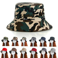 Boonie Bucket Hat Cap Cotton Fishing Brim visor Sun Safari Sumer Camping Masraze