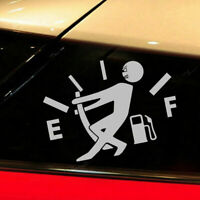 High Gas Consumption Car Window Door Sticker Decal Decoration Auto Accessories