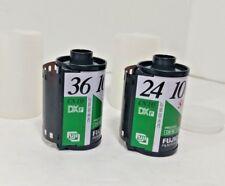 2 Rolls FUJI Fujifilm Super plus 100 ISO 24exp 35mm 135 Color Film