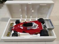 Ferrari 312 T2  1:6  1/6 distillerie toschi Vignola w box Niki Lauda polistil