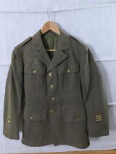 #C15/ Original US WW2 Service CLASS A UNIFORM JACKET / Ausgehuniform US36R