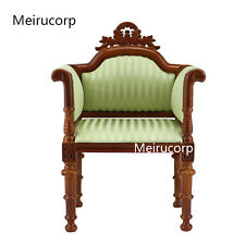 1/6 scale Fine Dolls Furniture Exquisite Stripe pattern Fabric chair