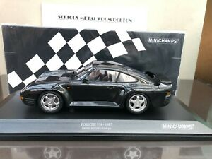 MINICHAMPS 155066207 PORSCHE 959 BLACK 1:18
