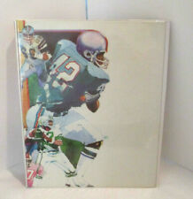 Vintage Mead Data Center Notebook/Binder Football and Cheerleaders
