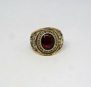 USA Air Force Pilot Officer's Ring, 10K Gold by Balfour, Very Crisp Condition