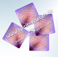5 Untersetzer Blume des Lebens - Acrylglas-Untersetzer für Gläser
