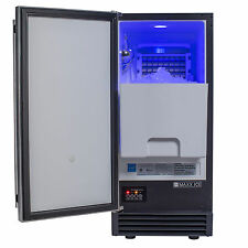 Maxx Ice Energy Star Built-In Undercounter 60Lb Ice Maker Machine w/ Drain Pump