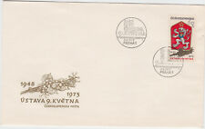 New ListingCzechoslovakia Czech Republic Postage Stamps Fdc 1973 Special First Day Covers