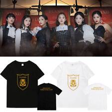 Kpop Gidle T-SHIRT 2020(G)I-DLE WORLD TOUR I-LAND Concert Tshirt Unisex  TEE