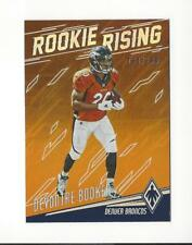 2016 Panini Phoenix Rookie Rising Orange Devontae Booker Rookie Broncos /299