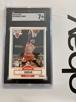 Michael Jordan SGC 7 Collector Card 1990 Fleer #26 Chicago Bulls INVESTMENT 🐐