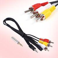 AV Cable For Raspberry Pi 2 Model B+ 3.5mm Port L/R best Video