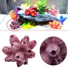 Aquarium Mini Artificial Resin Coral Tree Underwater Ornament Fish Tank Decor