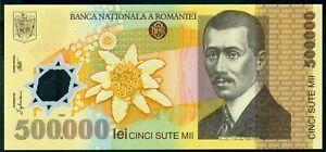 500000 Lei 2000 ( 500,000 ) Ghizari - ROMANIA - Polymer UNC from sheet P-115b