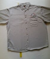 Harley Davidson Motorcycle NHRA Performance Parts Button Up Shirt XL