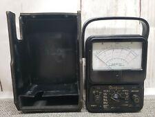 Vintage Simpson Model 260 Multimeter No Leads Usa Untested Needs Batteries