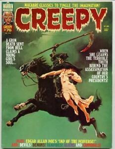 Creepy #76     Decapitation Cover