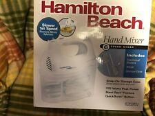 HAMILTON BEACH 62695V 6 SPEED HAND MIXER