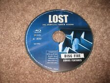 Lost The Fourth Season 4 Disc 5 Disc Only Replacement Blu Ray