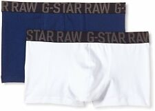 NWT Men's G-Star Mignon Sport Trunk 2 Pack Pacific/White Size Large Boxer Briefs