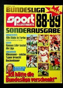 SPORT ILLUSTRIERTE SONDERAUSGABE: BUNDESLIGA 1988-89, 38 MANNSCHAFTEN IM PORTRÄT
