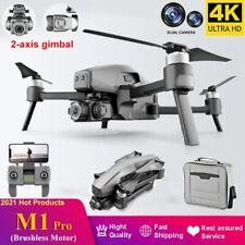 2021 M1 Pro 2 Drone 2-Axis Gimbal Camera 6k HD 5G Wifi GPS TF Card Drone 3KM