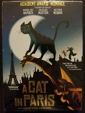 A Cat in Paris (DVD, 2012) Marcia Gay Harden, Anjelica Huston Matthew Modine NEW