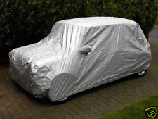 Indoor / Outdoor Fitted Car Cover for the Classic Mini with Mirror Pockets.