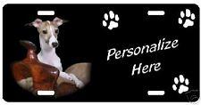 Italian Greyhound #4   Personalized Auto License Plate