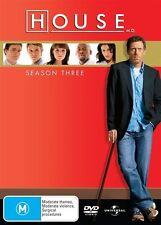 House : Season 3 (DVD, 6-Disc Box Set) R-4- NEW AND SEALED-FREE POSTAGE