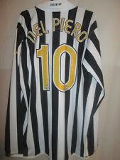 Juventus 2006-2007 Del Piero Home Football Shirt Size XL BNWT LS  /34040