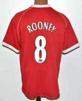 MANCHESTER UNITED 2006/2007 HOME FOOTBALL SHIRT JERSEY NIKE #8 ROONEY SIZE L