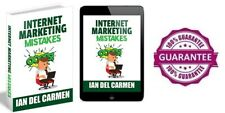 New Internet Marketing Mistakes, Ebook With Full Master Resell Rights.