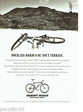 PUBLICITE ADVERTISING 056  1995  Giant Bikes  les lelis vtt  tout terrain