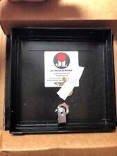 "JL Industries Part # 9TM-0808LBK  -  8"" x 8"" Flush Door Access Panel - Black"