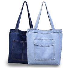 Women Cowboy Denim Shoulder Bag Purse Satchel Messenger Bag Handbag Ladies  Tote