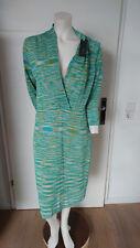 8177d3c7882c Esprit EmpireStil Kleid grün beige türkis gestreift Größe XL neu mit Etikett