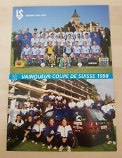 Lausanne-Sports, Nationalliga A 1998/99, Autogrammkarten Set original signiert