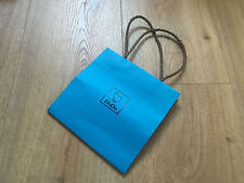Used - DODO - bolsa de papel Azul - Blue Paper bag -