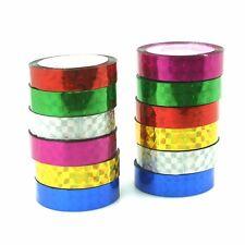 10pcs DIY Glitter Decor Adhesive Masking decor Tape Sticky Paper Sticker Set
