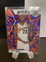 2019-20 Panini Mosaic Lebron James MVP Reactive Blue #298 SP Prizm 🔥PSA 10?