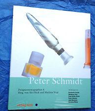 Buch aus der Reihe Designermonographien über PETER SCHMIDT / neu, noch ovp